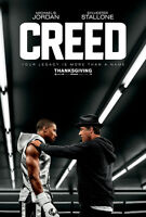 Creed Movie Poster A1 High Quality Canvas Art Print