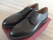 900$ Bally Marnik Brown Goodyear Welted Shoes Size US 12 Made in Switzerland