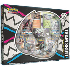 Pokemon Team Skull Pin Collection Box: Inc Booster Packs & Promo Cards