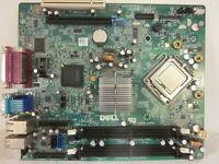 Dell Optiplex 760 SFF Motherboard F373D M863N  Main Board Core2 DUO CPU