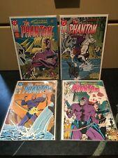 The Phantom Comics ~ DC Comics ~ UK ~ Lot of 4 ~ 1988