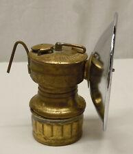Vintage Safesport Butterfly Carbide Miner Helmet Lamp Lantern