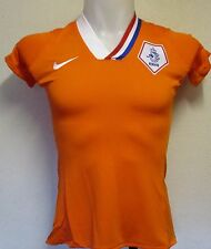 HOLLAND 2008/10 PLAYER ISSUE S/S  HOME SHIRT BY NIKE SIZE LADIES EXTRA SMALL NEW