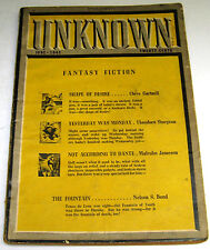 Unknown – US Pulp – June 1941 – Vol.5 No.1 - Fritz Leiber {Fafhrd & Gray Mouser}
