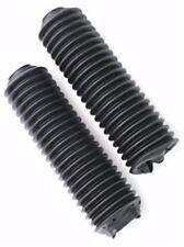 NEW WPS BLACK UNIVERSAL FORK BOOTS FOR SUZUKI RM125 RM250 RM400 RM465 RM500