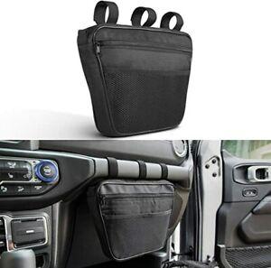 Black Grab Handles Storage Bag Pouch For Jeep Wrangler/B T5 JK