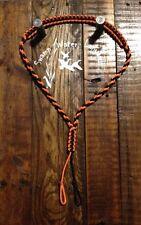 Turkey / Deer / Duck / Predator Call Paracord Lanyard (black/orange) Handmade