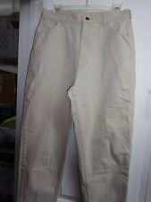 """LEE Ladies Womans Light Tan Denim Jeans Size 16M Cotton 29"""" inseam"""