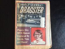 4/21/72 NATIONAL DRAGSTER Jerry Ruth, Gordie Bonin, Ed McCulloch, Jim Liberman
