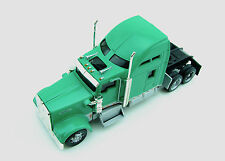 Norscot Kenworth W900 Green Tractor w/Display Case Die-Cast Metal 1/87 HO Scale