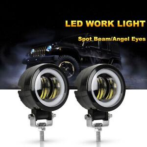 2X LED Arbeitsscheinwerfer Light Bar 20W Offroad Flutlicht Strahler 12V 24V KFZ