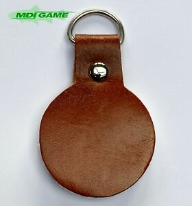 MDI Game Leather Fly Fishing Line Cleaner with 'D' Ring