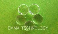 5pcs 532nm 6mm Flat-Convex Beam Collimation Focus Lens Green Laser Module Diode