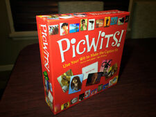 PicWits! Card/Board Game by Mindware 2012 Used Complete