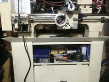 """Metal working Jet lathe 9"""" X 20"""" Belt Drive Bench With Cutting Tools And many"""