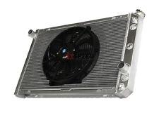 "Tri Row Performance Radiator+14"" Fan fit 86-92 Chevy Camaro/Pontiac Firebird V8"