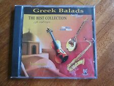V.A. GREEK BALADS The Best Collection CD GREEK MUSIC WORLD INSTRUMENTAL NO LP