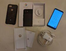 Google Pixel 3a XL - 64GB-SOLO NERO (SBLOCCATO) (SINGLE SIM)