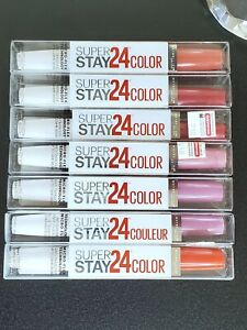 Maybelline SuperStay 24 Lip Color 2 Step Liquid Lipstick *CHOOSE SHADE