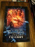 The STAR WARS Trilogy Del Rey/Ballantine Hardback Book 1995 New Hope ESB ROTJ