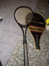 Dunlop John McEnroe Gold Mid Size  Tennis Racket L4 3/8 w/ case