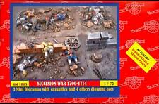 BUM Models 1/72 THE WAR OF THE SPANISH SUCCESSION Resin Dioramas Figure Set