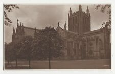Hereford Cathedral, Judges 3556 Postcard, A992