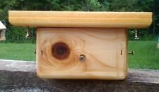 Ceder wood 4x4 post mount for large bird feeders or bird house, TBNUP  #1L