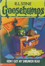GOOSEBUMPS #39 ~ HOW I GOT MY SHRUNKEN HEAD ~ PB 1996: VGC