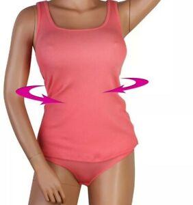 Spanx shape Shirt mit Body Gr. S 36, Farbe Orange, Baumwolle