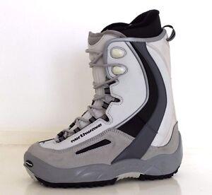 Northwave Legend Unisex Mondo 260 UK 7 Light Grey / Grey New Snowboard Boots