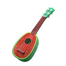 Children's Kids Guitar ukulele Fruit Acoustic Musical Toys Instrument Music_GG Watermelon