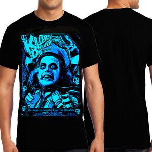 KND Bio Exorcist Betelgeuse Ghost Bettlejuice Tim Burton Mens T-Shirt Black NEW