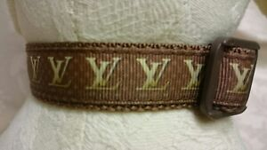 """Dog Collar and matching lead set 10"""" - 14"""" neck size.  FREE FABRIC DESIGN"""