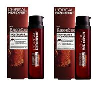 L'Oreal Men Expert Barber Club, Short Beard & Face Moisturizer, 50 ml (2 Pack)