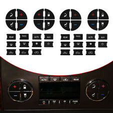 2 Set Button Repair Kit Dash Replacement Car Sticker For 07-13 GM Auto Decal Hot
