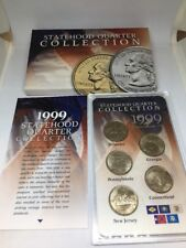 1999 P Statehood Quarter Collection 5 Coin Commemorative Set Free Shipping