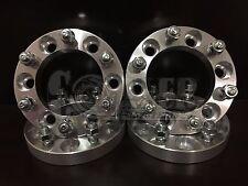 "4 of 1"" Chevy 6 Lug Wheel Spacers Adapters Fit Silverado 1500 Tahoe Suburban"