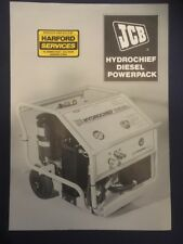 Jcb Hydrochief Diesel Power Pack Leaflet