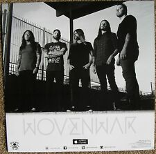 Wovenwar Album Poster 2-Sided Self-Titled Debut 12x12