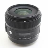 """MINT"" Sigma Art 30mm F/1.4 DC HSM Lens for Canon EF-S from Japan"