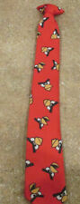 Boys Clip on Neck Tie Angry Birds Red