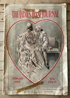 The Ladies Home Journal February 1902 Antique Magazine