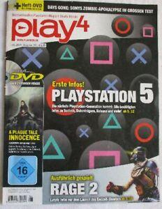 play4, Playstation-Magazin, 06.2019 / Ausgabe 146, + Heft-DVD