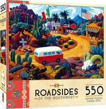 Touring Time - MasterPieces Roadsides of The Southwest 550 Piece Jigsaw Puzzle