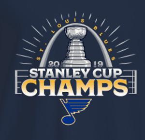 St. Louis Blues 2019 Stanley Cup Champs Mens 1/4 Zip Fleece XS-4XL, LT-4XLT New