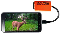 SD Micro SD Memory Card Reader Trail Camera Viewer android Micro-USB & Type-C