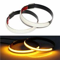 2pcs LED Motorrad Universal Gabel Blinker Lichtleiste Lampe für Custom Look