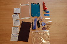 Samsung Galaxy S3 i9300 White Front Glass, Screen Repair Kit , Loca glue, Wire