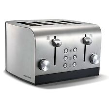 Morphy Richards Equip 1700W 4 Slice Electric Bread Toaster Wide Slot 7 Settings